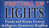 Festival of Lights Parade and Winter Festival in Historic Downtown Brighton