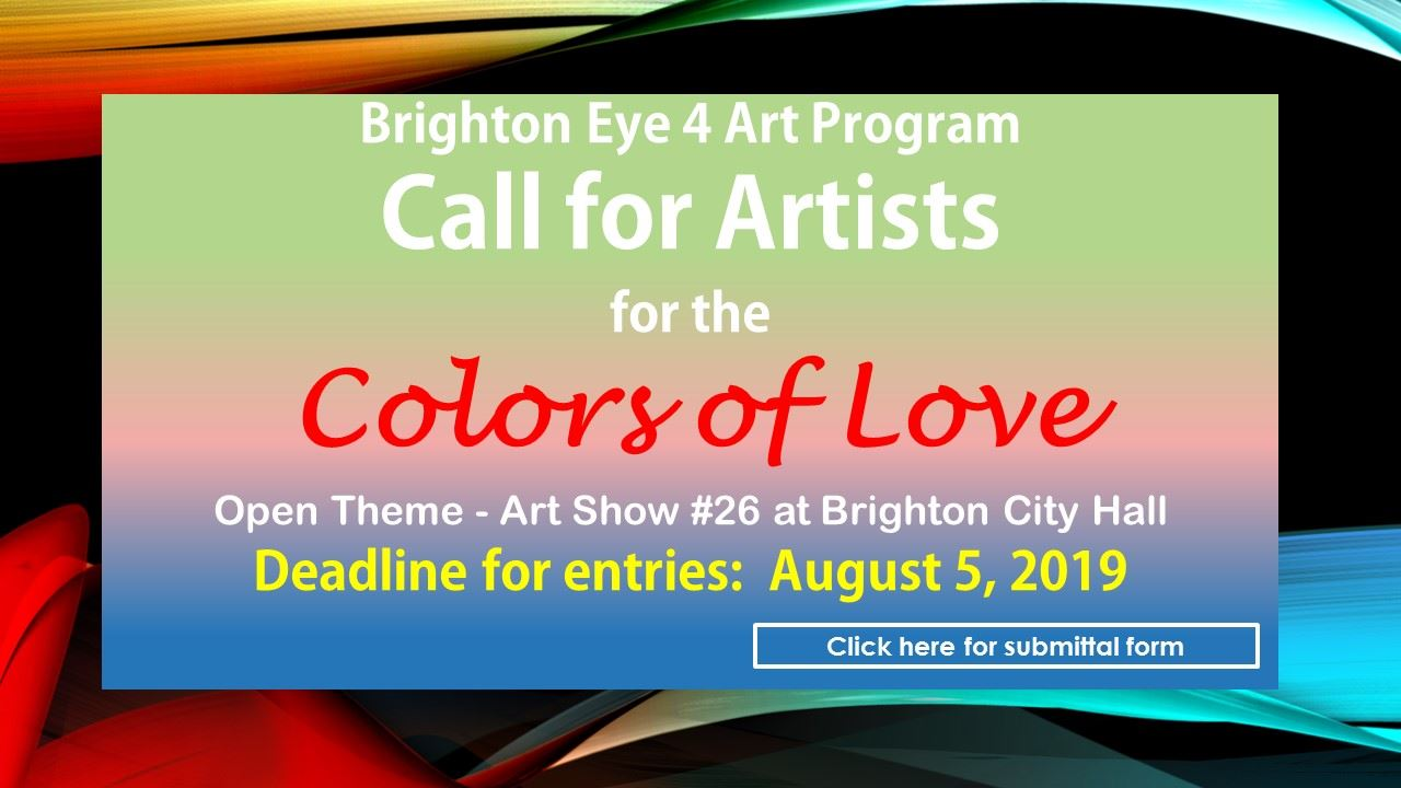 Colors of Love Call for Art