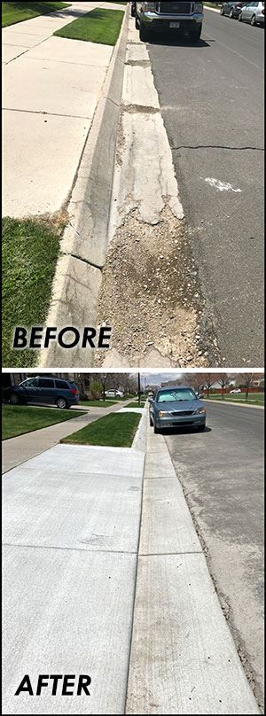 Sidewalk Replacement Program