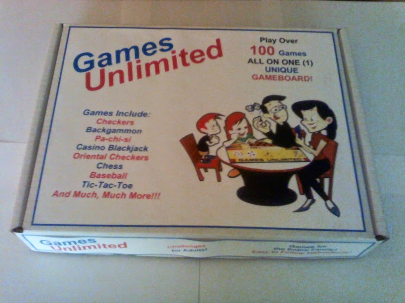 Games Unlimited Package (Outside)